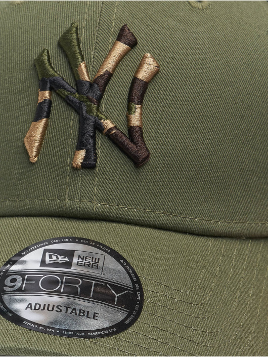 New Era Snapback Caps Mlb Properties New York Yankees Camo Infill 9forty olivový