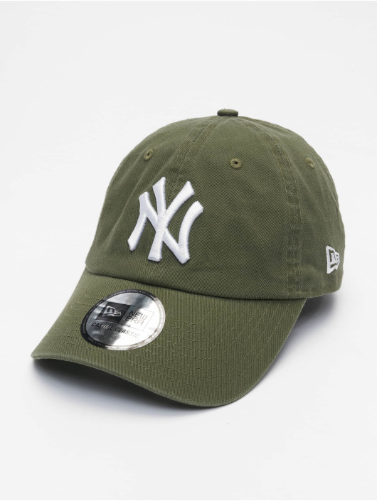 New Era Snapback Caps Mlb Properties New York Yankees Team Cc 9twenty olivový