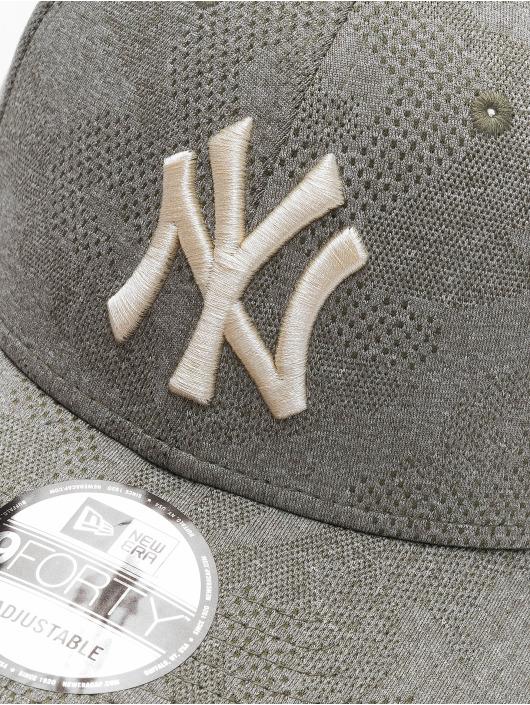 New Era Snapback Caps MLB NY Yankees Engineered Plus 9Forty oliwkowy