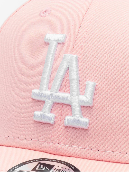 New Era Snapback Caps MLB Los Angeles Dodgers League Essential 9forty pink