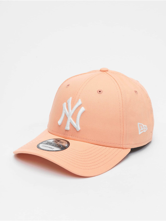 New Era Snapback Caps MLB New York Yankees League Essential 9forty pomaranczowy