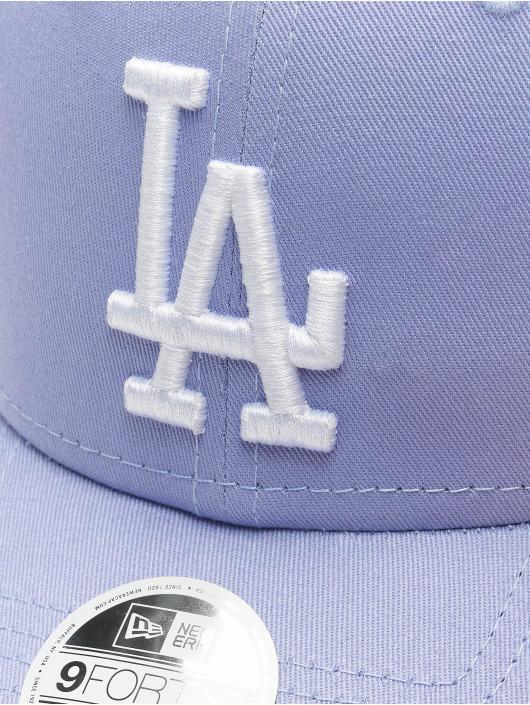 New Era Snapback Caps MLB LA Dodgers League Essential 9Forty purpuranpunainen
