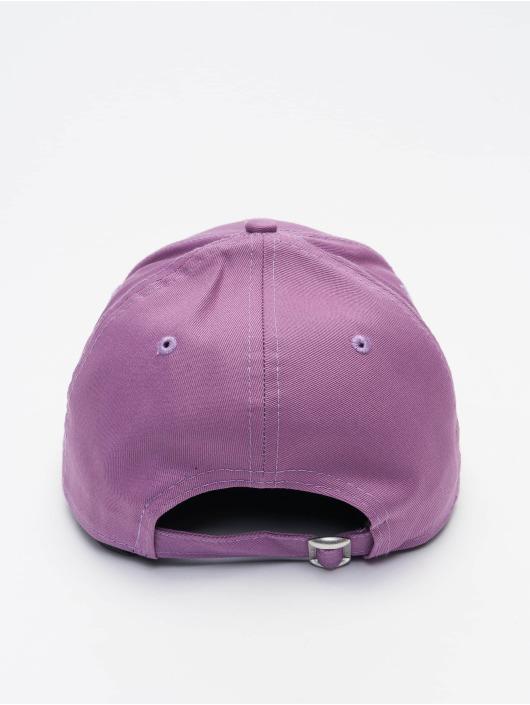 New Era Snapback Caps MLB Los Angeles Dodgers League Essential 9Forty purpuranpunainen