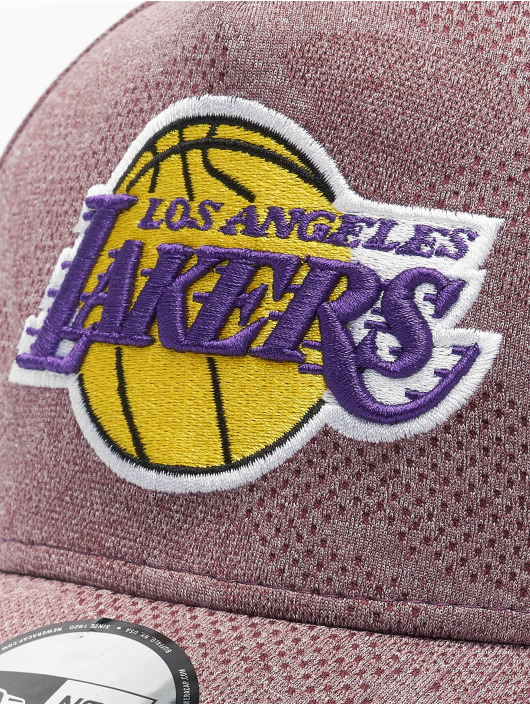 New Era Snapback Caps NBA LA Lakers Engineered Plus Aframe red