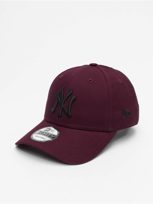New Era Snapback Caps MLB NY Yankees League Essential 9Forty red