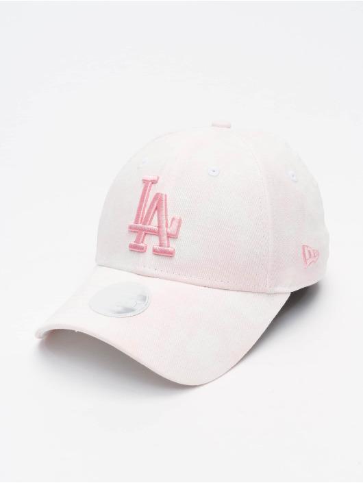 New Era Snapback Caps MLB Los Angeles Dodgers Womens Denim Colour 9Forty rosa