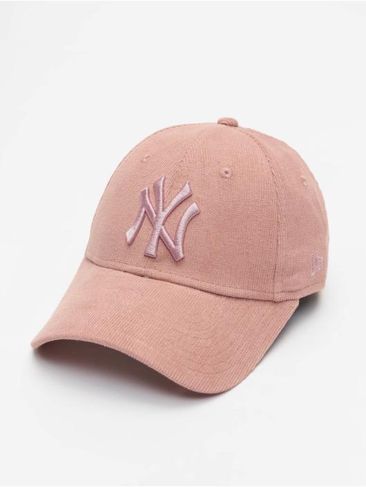 New Era Snapback Caps MLB NY Yankees Pastel Cord 9Forty rózowy