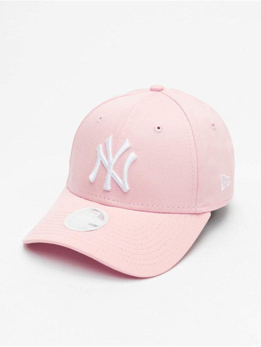 New Era Snapback Caps MLB NY Yankees League Essential rózowy