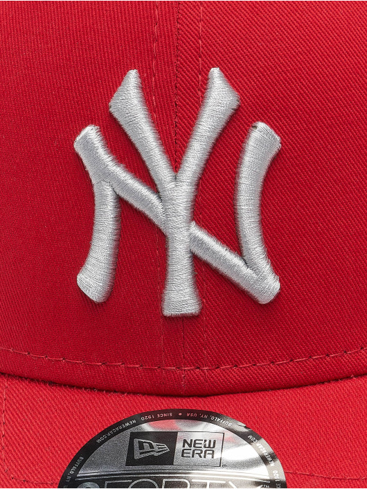 New Era Snapback Caps MLB New York Yankees League Essential 9Forty rød