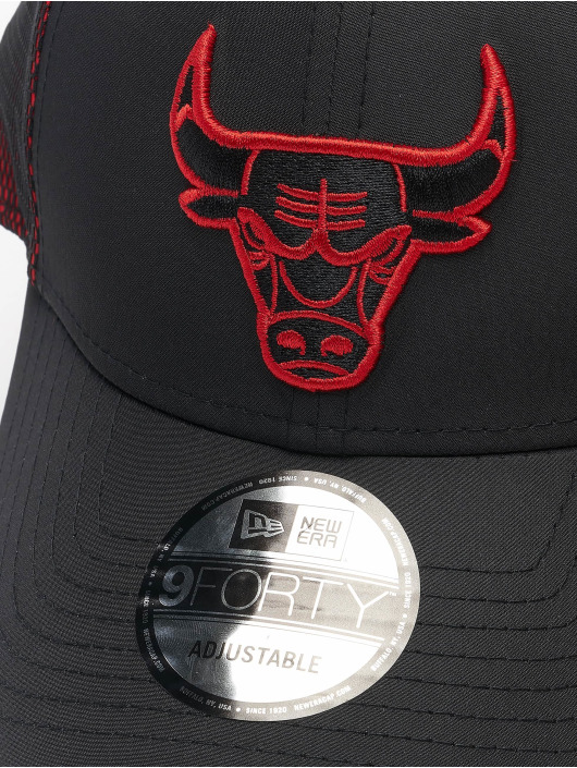 New Era Snapback Caps NBA Chicago Bulls Mesh Underlay 9Forty sort
