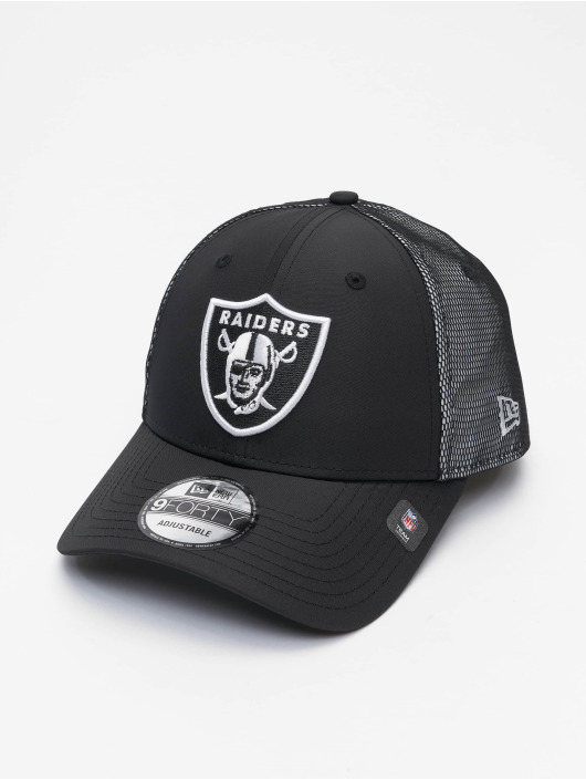 New Era Snapback Caps NFL Las Vegas Raiders Mesh Underlay 9Forty sort