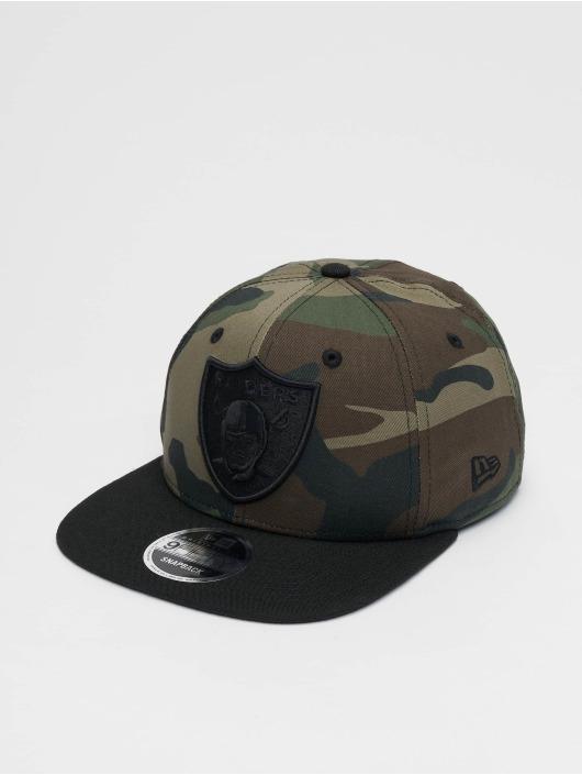 New Era Snapback Caps Oakland Raiders svart