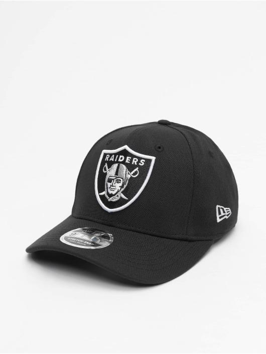 New Era Snapback Caps NFL Stretch Snap Oakland Raiders 9fifty svart