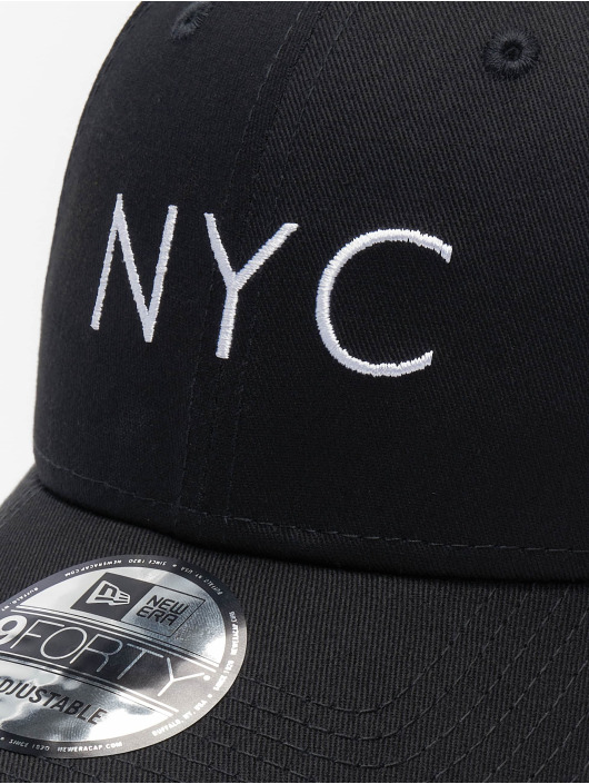 New Era Snapback Caps Essential New Era 9Forty svart