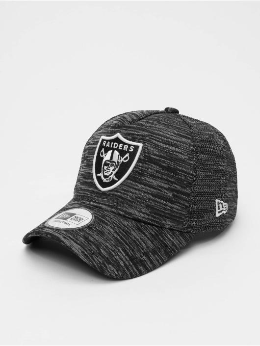 New Era Snapback Caps NFL Oakland Raiders Engineered Fit 9forty A-Frame svart