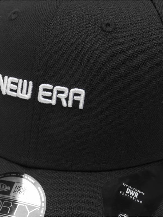 New Era Snapback Caps Uni 9Forty svart