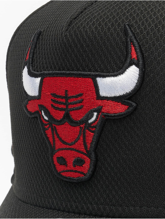 New Era Snapback Caps NBA Chicago Bulls Base svart