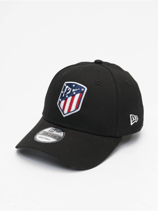 New Era Snapback Caps Essential Atletico Madrid  9Forty svart