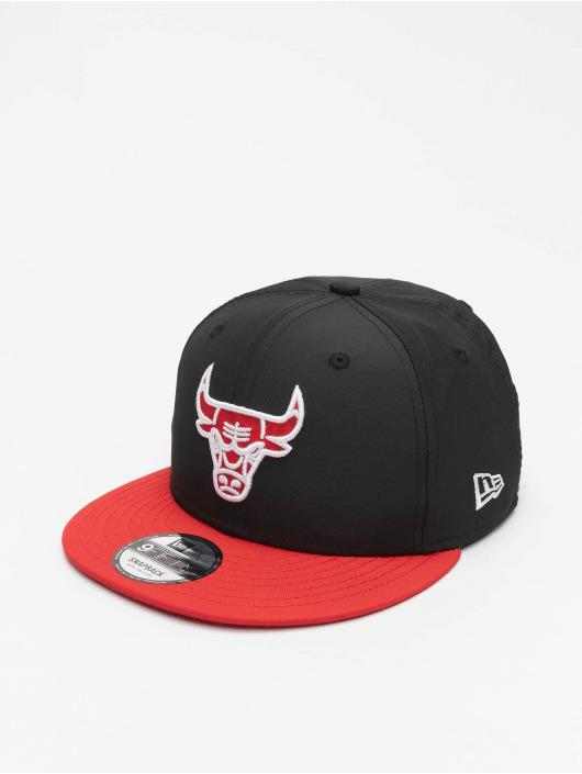 New Era Snapback Caps NBA Chicago Bulls Team 9Fifty svart