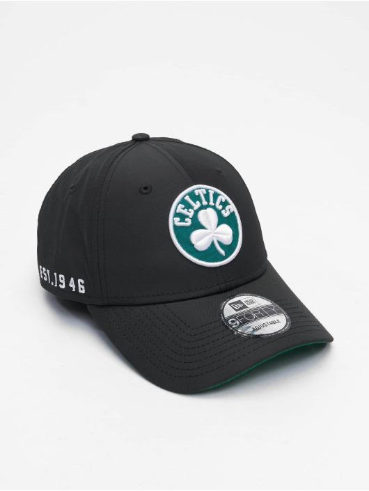 New Era Snapback Caps 9Forty Hook Boston Celtics svart
