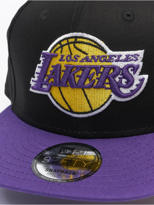 New Era Snapback Caps NBA LA Lakers Nos 9fifty svart