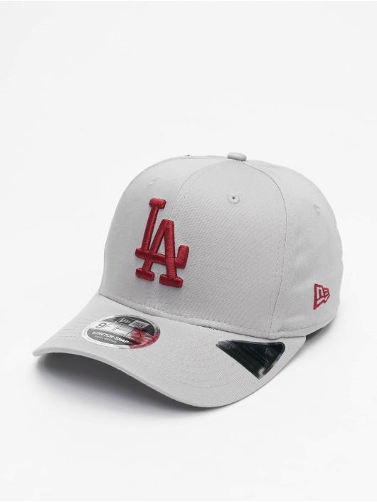 New Era Snapback Caps MLB LA Dodgers Tonal Stretch 9Fifty szary