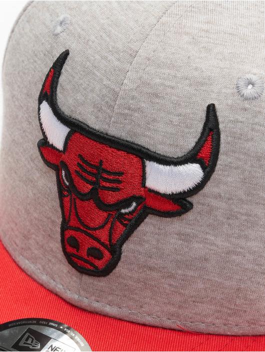 New Era Snapback Caps NBA Chicago Bulls Jersey Essential 9Fifty szary