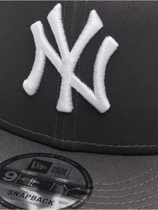 New Era Snapback Caps MLB NY Yankees Essential 9Fifty szary