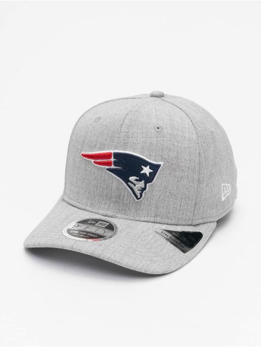 New Era Snapback Caps NFL New England Patriots Heather Base 9Fifty szary