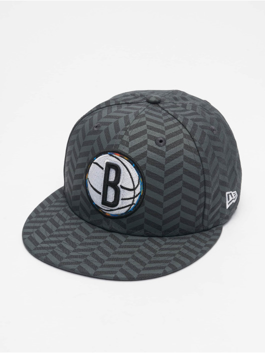 New Era Snapback Caps NBA20 Brooklyn Nets City Alt EM 9Fifty szary