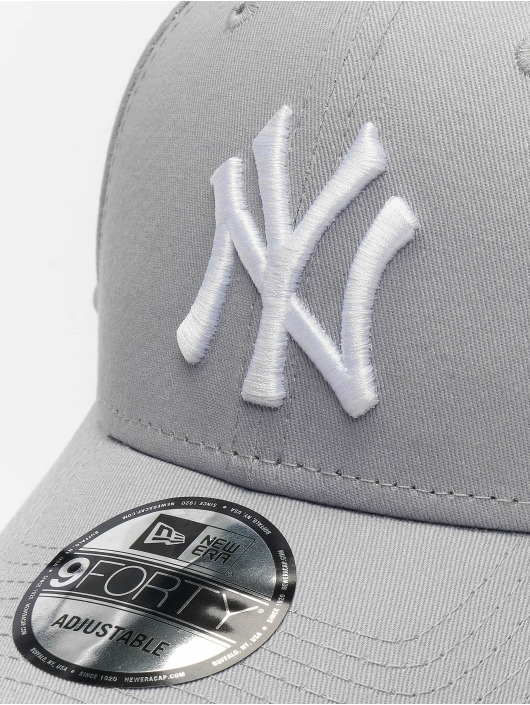 New Era Snapback Caps League Basic NY Yankees 9Forty szary