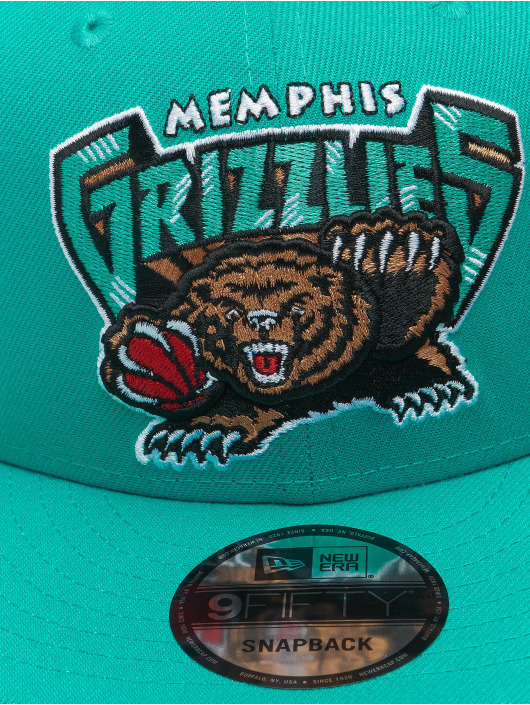 New Era Snapback Caps NBA 950 Memphis Grizzlies Hardwood Classics Nights turkis
