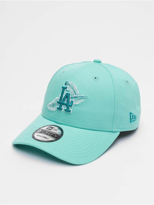 New Era Snapback Caps MLB Los Angeles Dodgers Light Weight turkusowy