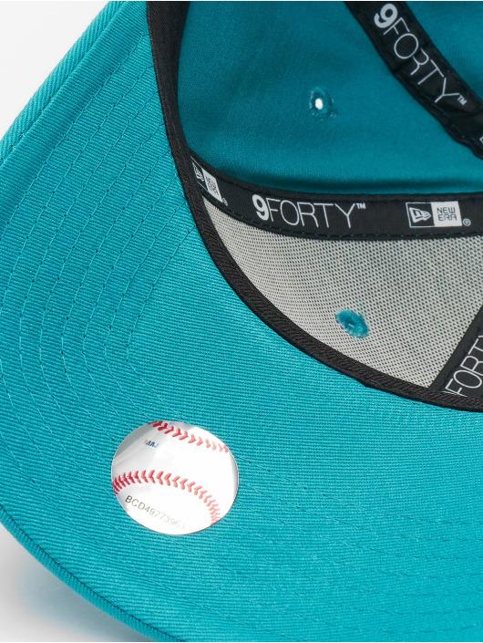 New Era Snapback Caps MLB New York Yankees League Essential 9forty turkusowy