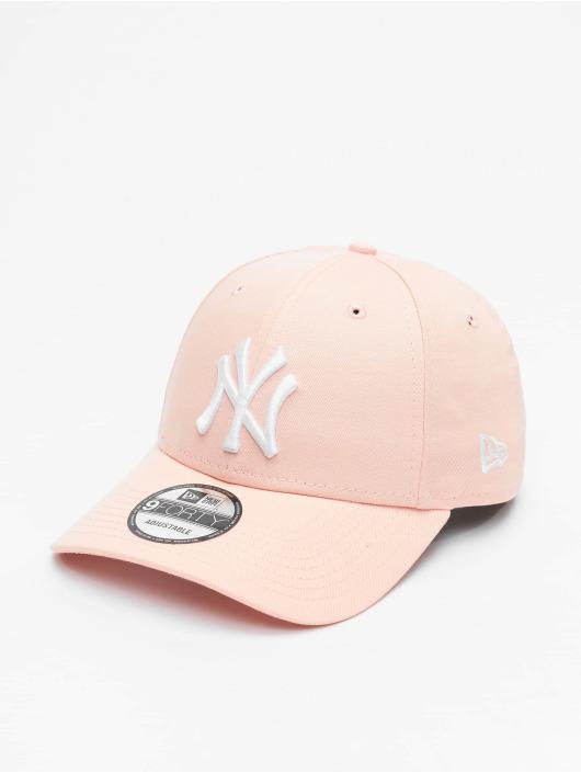 New Era Snapback Caps MLB NY Yankees 9Forty vaaleanpunainen