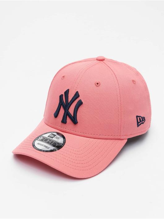 New Era Snapback Caps MLB New York Yankees League Essential 9Forty vaaleanpunainen