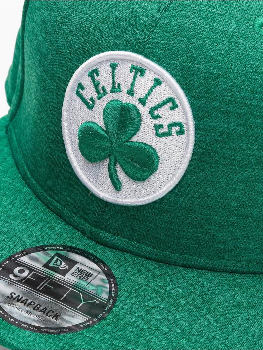 New Era Snapback Caps NBA Boston Celtics Shadow Tech zelený
