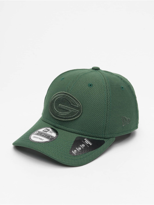 New Era Snapback Caps MLB Green Bay Packers Mono Team Colour 9Forty zielony
