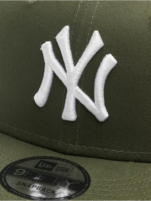 New Era Snapback Caps MLB NY Yankees Essential 9Fifty zielony