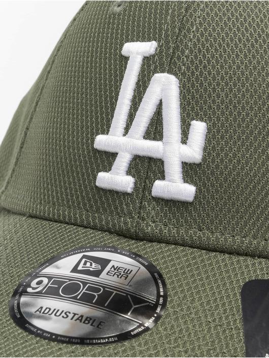 New Era Snapback Caps MLB LA Dodgers Diamond Era Essential 9Forty zielony