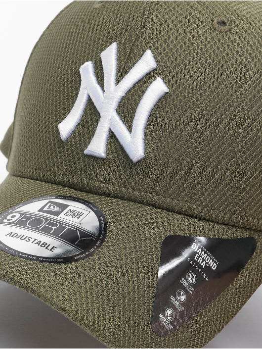 New Era Snapback Caps MLB NY Yankees Diamond Era 9forty zielony