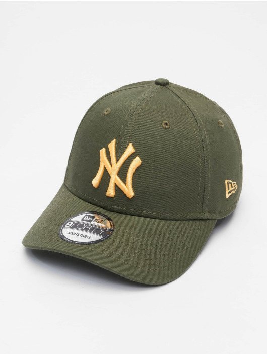 New Era Snapback Caps Colour Ess New York Yankees 9Forty zielony