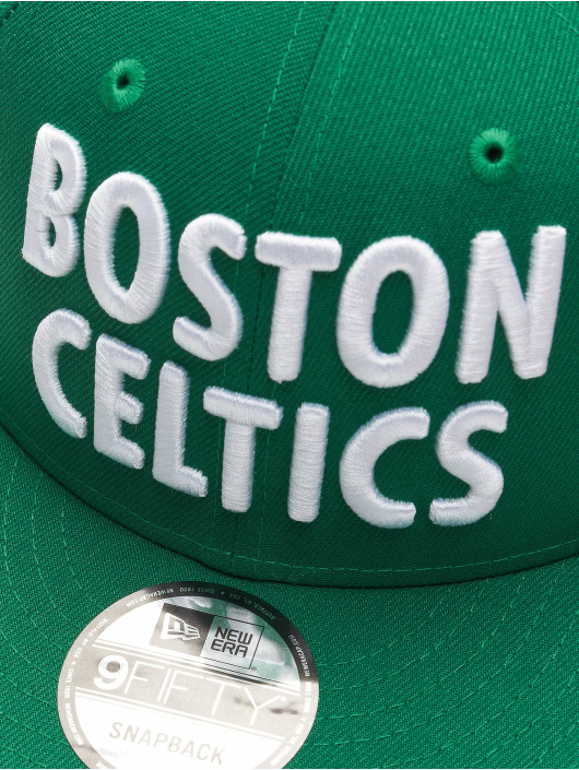 New Era Snapback Caps NBA20 Boston Celtics City Alt EM 9Fifty zielony