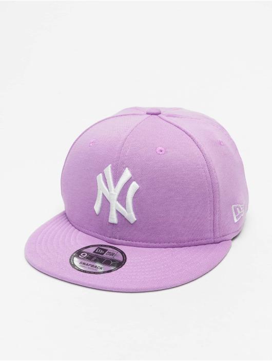 New Era Snapback MLB NY Yankees Jersey Pack 9Fifty fialová