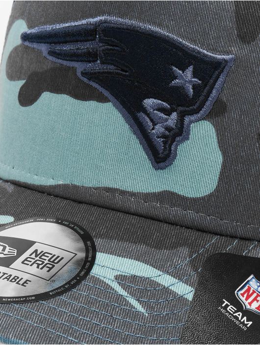 New Era Snapback NFL Camo Essential Trucker New England Patriots maskáèová