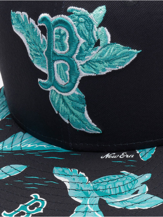 New Era Snapback MLB Boston Red Sox Desert Island 9fifty modrá