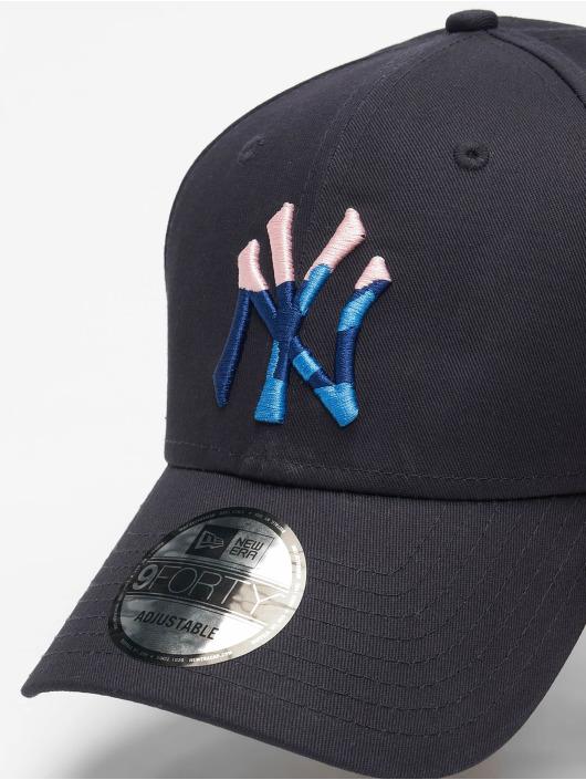 New Era Snapback 9Forty Camo Infill NY Yankees modrá