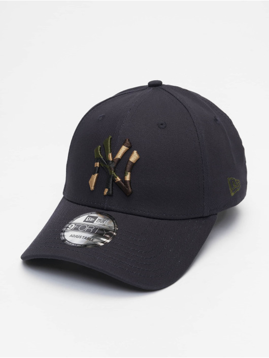 New Era Snapback Mlb Properties New York Yankees Camo Infill 9forty modrá