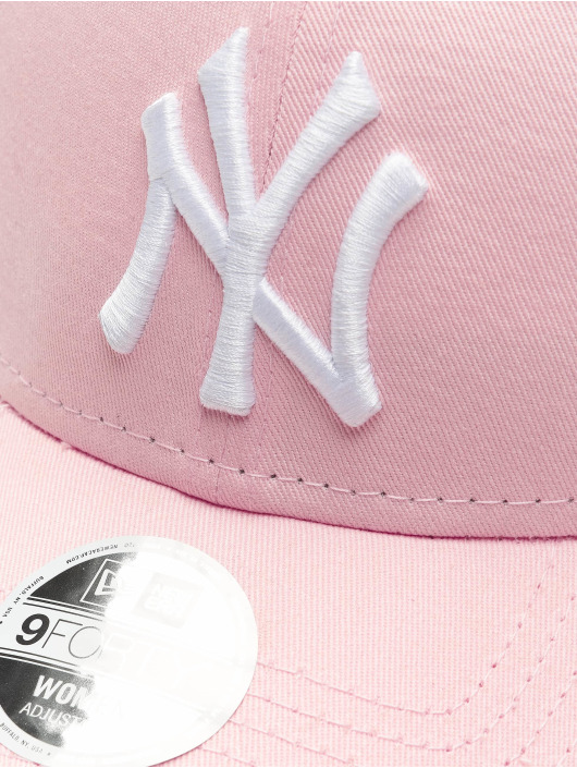 New Era Snapback MLB NY Yankees League Essential ružová