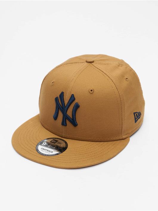 New Era Snapbackkeps MLB New York Yankees League Essential 9Fifty beige